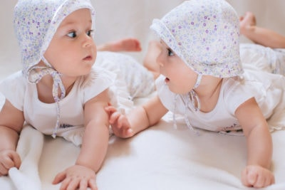 Twin Girls via IVF
